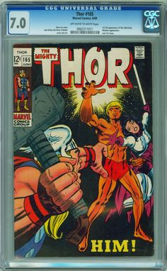 MySlabbedComics » Comic Archive » Publisher - Marvel » Issue - Thor #165