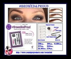 browed & proud kit just got better untill 8th may only you get a FREE lash/comb worth £16 & a pack of stiff upper lip lip stain sample pack of 7 worth £12 #amazing #younique #browedandproudkit #australia #newzealand #germany #france #usa #canada #mexico #england #bargain #perfectbrows #beauty #makeup #cosmetics #onlineshop