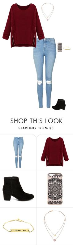 Untitled #195 by sing-into-life on Polyvore featuring WithChic, Topshop, Steve Madden, Michael Kors and New Look