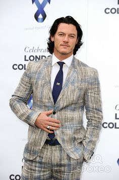 Luke Evans arrives for the One for the Boys Ball 2014 at the Natural History Museum, London. 15/06/2014 Picture by: Steve Vas / Featureflash