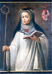 Mafalda of Portugal (1197 - 1256). Daughter of Sancho I and Dulce of Aragon. She married Enrique I of Castile, but the marriage was annulled in 1216.