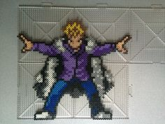 Laxus Dreyar - Fairy Tail perler beads by  TehMorrison