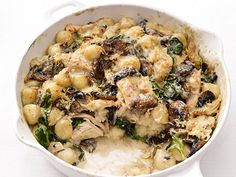 Baked Gnocchi with Chicken Recipe : Food Network Kitchen : Food Network - FoodNetwork.com