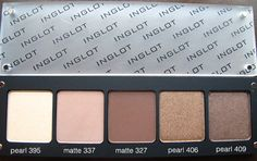 "Inglot -""i have a palette of Inglot e/s similar to this, but I like the colors in this one better. Excellent quality and very reasonable price. Palettes are cool too with a magnetized lid that kind of slides over. Overall would definitely buy again!"""