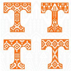 Tennessee T Aztec Silhouette Studio Software