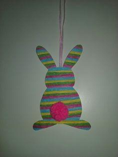 Velikonoční králíček na dveře
