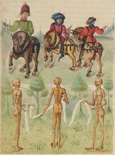 Le Chasteau perilleux, compilé et ordonné d'un moyne de l'ordre Chartreuse pour une nonnain de l'ordre de Frontevaulx Date d'édition :  1401-1500  Français 445  Folio 217r