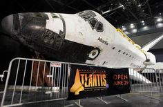 Space Shuttle Atlantis Unwrapping