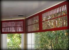 Using old shutters a