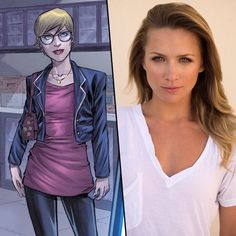 The Flash - Shantel VanSanten has been cast as Police Officer Patty Spivot in the upcoming season of The Flash!