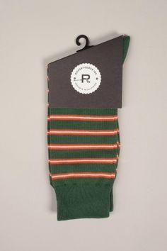 Richer Poorer Po'boy Socks Green