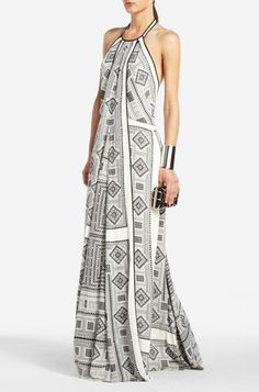 """A gorgeous print and the cut looks like it would be flattering on most body types. At 428 on the BCBG website, this falls into a splurge category. Will be searching the web, for """"steal"""" options for my fellow """"Dyme Divas."""""""