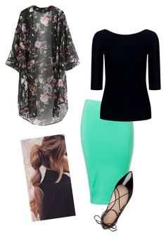 """""""K i m o n o Love"""" by bye18 ❤ liked on Polyvore featuring Kate Spade and Theory"""