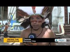 Indigenous Brazilians fight for their rights