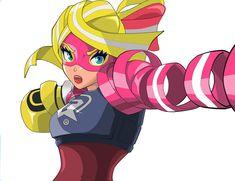 Ribbon Girl (ARMS - Nintendo Switch) by leonardoemixe