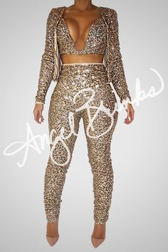 Glisten Set (Gold) | Shop Angel Brinks on Angel Brinks