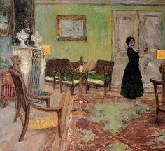 Edouard Vuillard / The Salon, 1905
