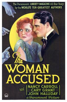 The Woman Accused (1933) Cary Grant, Nancy Carroll