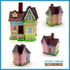 Carl's House - Polymer CLAY by *buzhandmade on deviantART