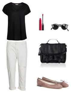 """""""Senza titolo #6"""" by imnotniceatall on Polyvore featuring moda, Acne Studios, Pieces, Repetto, Sephora Collection, Oliver Peoples e Proenza Schouler"""