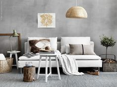 12 Editors' Picks from the 2017 Ikea Catalog \ Sofa Living Room Interior Designs \ Home Decor Ikea Living Room, Living Room Goals, Living Spaces, Söderhamn Sofa, Ikea Couch, Ikea Soderhamn, Dream Decor, Apartment Living, Apartment Therapy