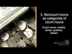 ESL: What are count and noncount nouns?  online video English lessons  www.OnTargetEnglish.com