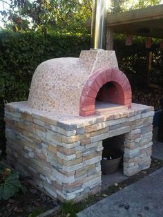 Great traditional Italian Fornino wood-fired brick oven PIZZA OVEN