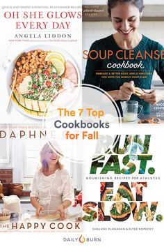 Autumn is heating up — your kitchen, that is. These fall cookbooks add a fresh set of healthy and hearty classics to your recipe repertoire. Check 'em out. Quick Healthy Meals, Nutritious Meals, Healthy Foods To Eat, Healthy Eating, Healthy Recipes, Kale Recipes, Lentil Recipes, Eggplant Recipes, Cabbage Recipes