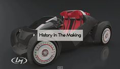 Check out the first #3d printed car!