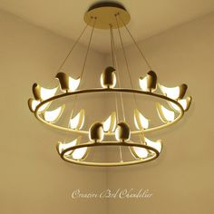 Kroonluchter Vogel Lighting, Ceiling, Lights, Lightning