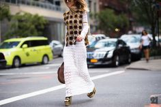 See all the best street style from New York Fashion Week now on wmag.com.