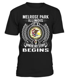Melrose Park, Illinois - My Story Begins