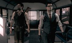 Sebastian Castellanos and Joseph Oda - The Evil Within