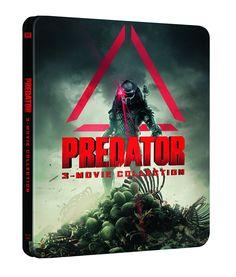 Trilog¨ªa Predator Bd Steelbook [Blu-ray] #Bd, #Predator, #Trilog, #ray 3 Movie, Movie Collection, Predator, Aesthetics, Darth Vader, Fictional Characters, Fantasy Characters