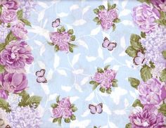 Scrapbook Butterflies Floral Papers by Five5Cats.deviantart.com on @deviantART