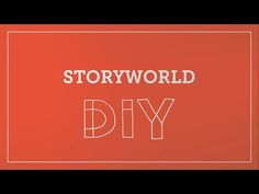 DIY Toolkit | Storyworld - YouTube