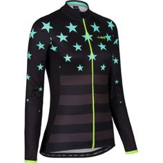 Buy your dhb Women's Blok Superstar Long Sleeve Jersey - Jerseys from Wiggle. Women's Cycling Jersey, Cycling Wear, Bike Wear, Cycling Jerseys, Cycling Bikes, Cycling Outfit, Cycling Clothing, Bike Kit, Cycle Chic