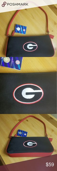 Womens University of Georgia UGA Handbag NWT Womens University of Georgia UGA Handbag NWT  Officially Licensed Collegiate Product Sandol Bags Totes