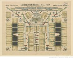 Imagerie d'Epinal. N° 1380, Petites constructions. Aéroplane-biplan des frères Voisin : [estampe]