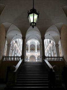 Genova. Unesco World Heritage Site: Le Strade Nuove and the system of the Palazzi dei Rolli. Palazzo Doria Tursi o Niccolò Grimaldi.