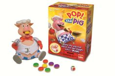 Amazon.com: Goliath Pop the Pig Kids Game: Toys & Games