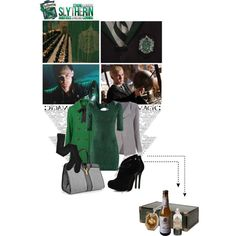 Slytherin, created by catching-fire on Polyvore