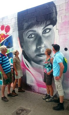 Follow me on a street-art tour and discover superb murals.