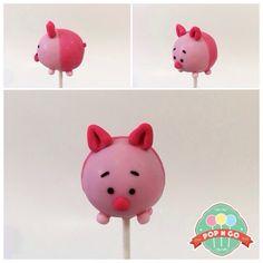 Tsum Tsum Piglet Cakepop
