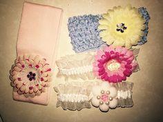 Felt Fabric Flower headband
