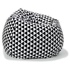 black and white beanbag - Google Search