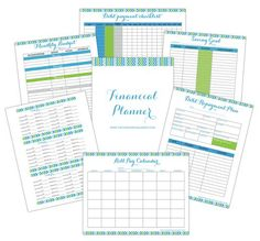 FREE financial planner to help you with the 52 weeks to eliminate debt & curb spending challenge.  Download the following: Savings Goal Worksheet - Debt Payment Checklist - Debt Repayment Plan - Bill Pay Calendar - Monthly Budget Worksheet - Cash Envelope Template