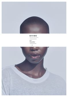 editorial idea - skin focus /  EVIGE Pure Swiss Essence Water on Behance