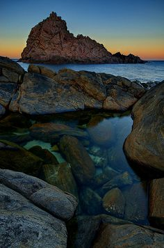 Dawn at Sugarloaf Rock, WA. - Short drive from Caves House Hotel, Yallingup Western Australia, Australia Travel, Hotel Stay, Great Vacations, Beautiful Islands, Amazing Nature, Travel Around, Science Nature, Wonders Of The World