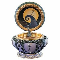 Nightmare Before Christmas music box. I've only seen this once when I was a little girl. I've wanted it ever since.